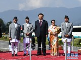 習近平結束同印度總理第二次非正式會晤和對尼泊爾國事訪問回到北京