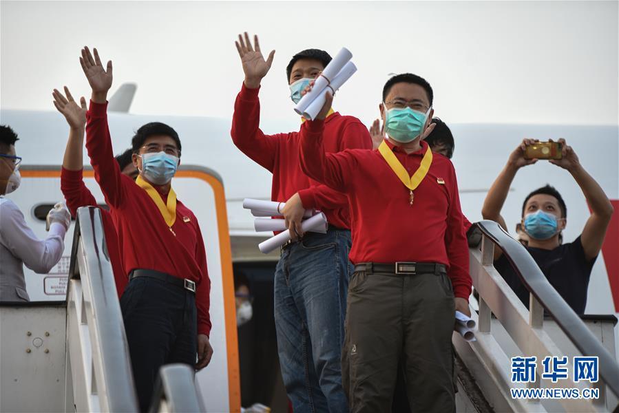 (国际疫情·图文互动)(4)委内瑞拉政府为中国医疗专家组全体成员授勋