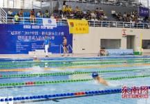 将乐举办福建省成人游泳锦标赛