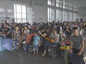8月份以来三明北站迎来了客流高峰 日均发送旅客近1.3万人